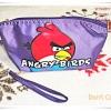 กระเป๋า angry bird เกมส์ยอดฮิต สีม่วง