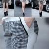 เซ็ทเสื้อ+กางเกง (สีเทาตารางใหญ่) เบอร์5