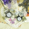 นาฬิกาพก,นาฬิกาสร้อยคอรูปนกฮูกมี2แบบค่ะ