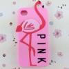 เคส iphone 6 ขนาด 4.7 นิ้ว เคส วิคตอเรีย ซีเคร็ท Pink สีชมพูอ่อน ลาย นกฟลามิงโก้ เคสลาย แปลก หายาก 763134_4