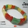IJ301 ข้อมือหยก 3 สี Chinese Jade ข้อมือหยกจากจีนหรือเรียกอีกชื่อว่าหยกเกาหลี