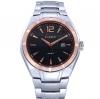 นาฬิกาข้อมือ ผู้ชาย ผู้หญิง ใส่ได้ นาฬิกา สายสแตนเลส สีเงิน เพิ่มความหรูหรา ด้วยกรอบหน้าปัด สีทอง Rose Gold มีระบบ วันที่อัตโนมัติ นาฬิกา ลดราคา 342432