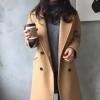 ไซส์ M : เสื้อโค้ทกันหนาว ทรงคลาสสิค ผ้าวูลเนื้อดี บุซับในกันลม จะใส่คลุม หรือใส่เป็นโค้ทก็สวยเก๋