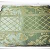 ผ้าคลุมที่นอน ผ้าปูโต๊ะ ผ้าอเนกประสงค์ สีเขียวลายไทย 005