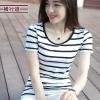เสื้อยืดแฟชั่น Spring new Korean wave sleeve t-shirt