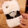 เคส Samsung galaxy note 3 n9000 n9009 n9005 เคส ขนสัตว์ ขนเฟอร์ นุ่ม ๆ ขนกระต่ายแท้ สีขาว นุ่มมาก ติดคริสตัล สุนัขจิ้งจอก 14573_1