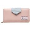 กระเป๋าสตางค์ Samilon สีชมพูอ่อน ขนาดยาว