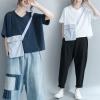 JY25610#เสื้อOversizeสไตล์เกาหลี เสื้อโอเวอร์ไซส์แต่งลายแนวๆ อก*100ซม.ขึ้นไปประมาณ40-42นิ้วขึ้น