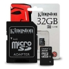 Kingston Micro SD/SD Card 32GB Class 4 ของแท้ ประกัน Lifetime