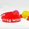 ริสแบนด์ TVXQ แบบเดี่ยว สีแดง