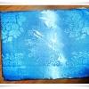 ผ้าห่มแพร ผ้าปูที่นอนแพร 6 ฟุต สีฟ้าอ่อน