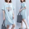 JY25706#เสื้อOversizeสไตล์เกาหลี เสื้อโอเวอร์ไซส์แต่งลายแนวๆ อก*100ซม.ขึ้นไปประมาณ40-42นิ้วขึ้น