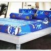 ชุดผ้าปูที่นอนลายทีมฟุตบอล Chelsea สีน้ำเงินสลับฟ้า 3.5 ฟุต 3 ชิ้น ch01