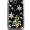 เคสโทรศัพท์ เคส Samsung Galaxy Note 2 N7100 เคสใส ติดคริสตัล รูป ต้นคริสต์มาส แสนสวย เคส Diy สวย ๆ ราคาถูก 449444