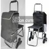 Shopping Trolley Bag - กระเป๋าผ้ามีล้อลาก กระเป๋ารถเข็นล้อลาก กระเป๋ารถเข็นพับได้ รุ่น 6 ล้อ มีที่นั่งพัก ล้อลากขึ้นลงบันไดสะดวก สำเนา