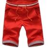 กางเกงขาสั้นผู้ชาย กางเกงขาสามส่วน กางเกงแฟชั่น สีแดงสด สีสวย กางเกงผู้ชาย แบบยางยืด ใส่เที่ยว ใส่อยู่บ้าน แบบสวย มีสไตล์ ดูดีมากค่ะ 641470_7