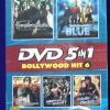 DVD 5in1 รวมที่สุดของหนังอินเดีย Bollywood Hitชุด6