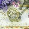 นาฬิกาพก,นาฬิกาสร้อยคอฝาหน้าฉลุลายดาวไซส์เล็ก