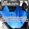 DOG Seat Protector-เบาะรองกันเปื้อนบนรถยนต์สำหรับสุนัขแสนรัก (แบ่งครึ่งเปิดลงให้คนนั่งข้างๆสุนัขได้)