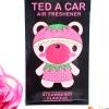 Ted A Car / Air Freshener (Strawberry)