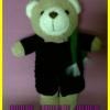 หมีรับปริญญา - ม.ศรีปทุม