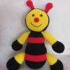 ตุ๊กตาผึ้ง สีดำ