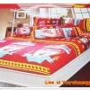 ชุดผ้าปูที่นอน ลายทีมฟุตบอล Liverpool สีแดง 3.5 ฟุต 3 ชิ้น