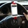 ขายึด GPS และ มือถือ สำหรับติดพวงมาลัยรถ ปรับความกว้างตั้งแต่ 11ซม. ถึง 14.5ซม.