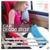 ( ลด 10 % ) หมอนหนุนคอหุ้มเบลท์ในรถ - เพิ่มความปลอดภัยให้เด็กเมื่อคาดเข็มขัดนิรภัย
