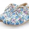 รองเท้าหุ้มส้น ผู้หญิง สไตล์วินเทจ ลายดอกกุหลาบทั้งคู่ เข้ากับ ชุดเดรส หวาน ๆ รองเท้าส้นแบน สไตล์เกาหลี แบบน่ารัก สีฟ้า 179931_1