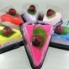 เครปเค้กผ้าขนหนู เซอร์ไพร์สวันพิเศษ (วันเกิด,วันวาเลนไทน์,วันแห่งความรัก) สีบานเย็น