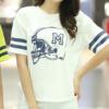 เซ็ทเสื้อ+กางเกง (สีขาว)