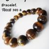 Tiger' eye Bracelet(M) ข้อมือพลอยตาเสือTG01B