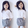 เสื้อผ้าเด็กแฟชั่น เลื่อนดูรายละเอียดสินค้า สอบถามสี ขนาดLINE:preorderdd