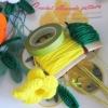 วัสดุในการทำดอกบานบุรี
