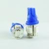ไฟหรี่ LED ขั้ว T10 5SMD ใหญ่ สีฟ้า 1คู่