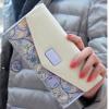 กระเป๋าสตางค์ผู้หญิง ใบยาว กระเป๋าสตางค์ แบบหวาน ๆ สไตล์ คุณหนู Flora Love ลายดอกไม้ สีสวย กระเป๋าสตางค์ใบยาว แบบ มีดีไซน์ สีชมพู ม่วง ดำ ฟ้า 387402