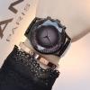 นาฬิกาข้อมือ ผู้หญิง สายหนังแท้ สีสัน สดใส สีหายาก นาฬิกาวัยรุ่น หน้าปัด เพชร สวยหรู นาฬิกาผู้หญิง ใส่ทำงาน สวย ๆ 669986