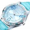 นาฬิกาข้อมือ ผู้หญิง สายหนัง ฝังเพชร คริสตัล ออสเตเรีย รอบตัวเรือน เพิ่มความ หรูหรา มีระดับ สีฟ้า สวยใส สีขาว เรียบร้อย ชมพู สวยหวาน 738828