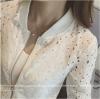 เสื้อคลุมลูกไม้ น่ารัก ฉลุสไตล์สาวโคเรีย จะรูดซิป จะเปิดโชว์ก็สวยหวานเปรี้ยวได้ครบทุกสไตล์ พร้อมส่งจ้า