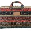 กระเป๋าโน้ตบุ๊ค แบบเก๋ ๆ สไตล์วินเทจ กระเป๋าใส่ Notebook Macbook ขนาด 13 14 15 inch แบบมีหูหิ้ว สีดำ ราคาถูก 885856_1