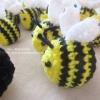 ผึ้งถักจิ๋ว 1.5 นิ้ว