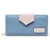 กระเป๋าสตางค์ Samilon สีฟ้า ขนาดยาว