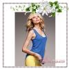 Victoria's Secret / The Must-Have Tank Top Riptide (Size S /#Blue Embellished)