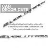 MITSUBISH LANCER EVOLUTION 3D LOGO - โลโก้ EVOLUTION ติดตกแต่งรถยนต์