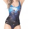 ชุดว่ายน้ำวันพีช ลายอวกาศ Galaxy SWIMSUIT สามารถใส่เป็นเสื้อ คลุมด้วย แจ๊คเก็ต ได้เลย สินค้านำเข้า ราคาพิเศษ no 84953