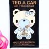 Ted A Car / Air Freshener (Hazelnut Macaron)