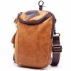กระเป๋าคาดเอว กระเป๋าร้อยเข็มขัด กระเป๋าหนังแท้ ใส่โทรศัพท์ สะพายข้างได้ แฟชั่น ดีไซน์ แบบเท่ ๆ 778802