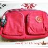 กระเป๋าคาดเอว Kipling สีชมพูอมส้ม K204