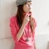 สเวตเตอร์ ( Sweater ) สําหรับผู้หญิง สีชมพู
